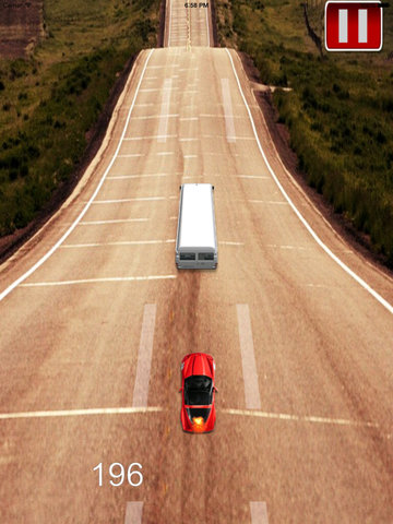 A Delivery Car Roads - Racing Hovercar Game screenshot 7