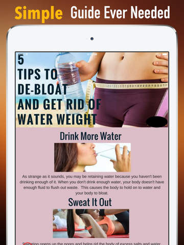 How to Reduce Water Retention:Metabolism,Diet and Weight Loss screenshot 7