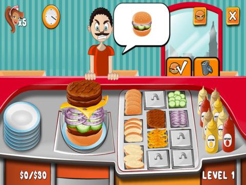 Burger Time! screenshot 5