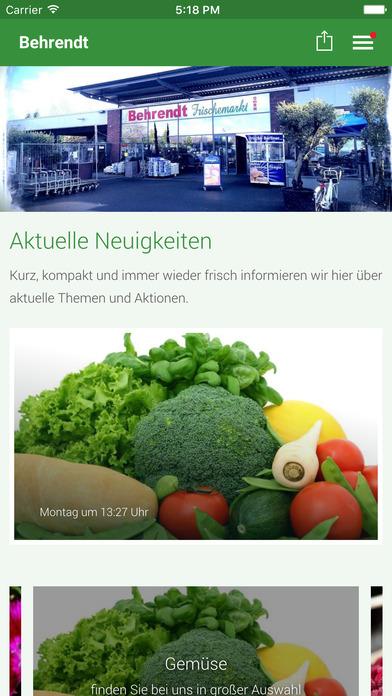 Behrendt Frischemarkt screenshot 1