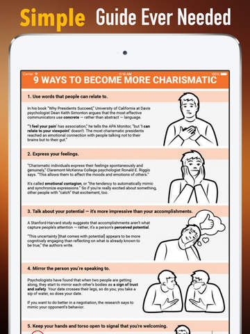 How to Be Charming: Tips and Supports screenshot 7