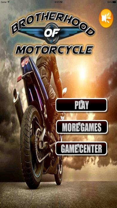 Brotherhood Of Motorcycle - Amazing Real Bike Race screenshot 1