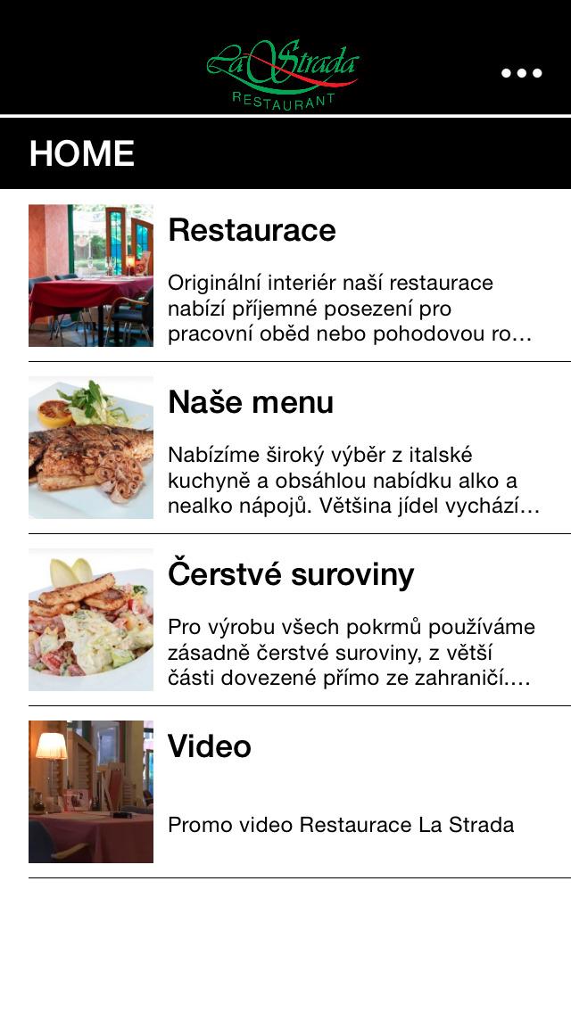 Restaurant La Strada screenshot 1