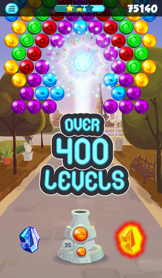 Bubble Shooter Paris screenshot 1