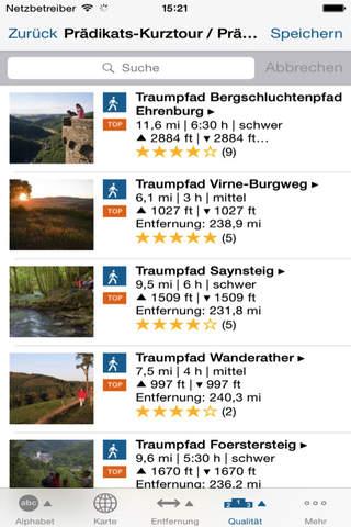 Traumpfade im Rhein-Mosel-Eifel-Land - náhled