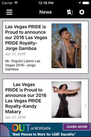 Las Vegas Gay Pride - náhled