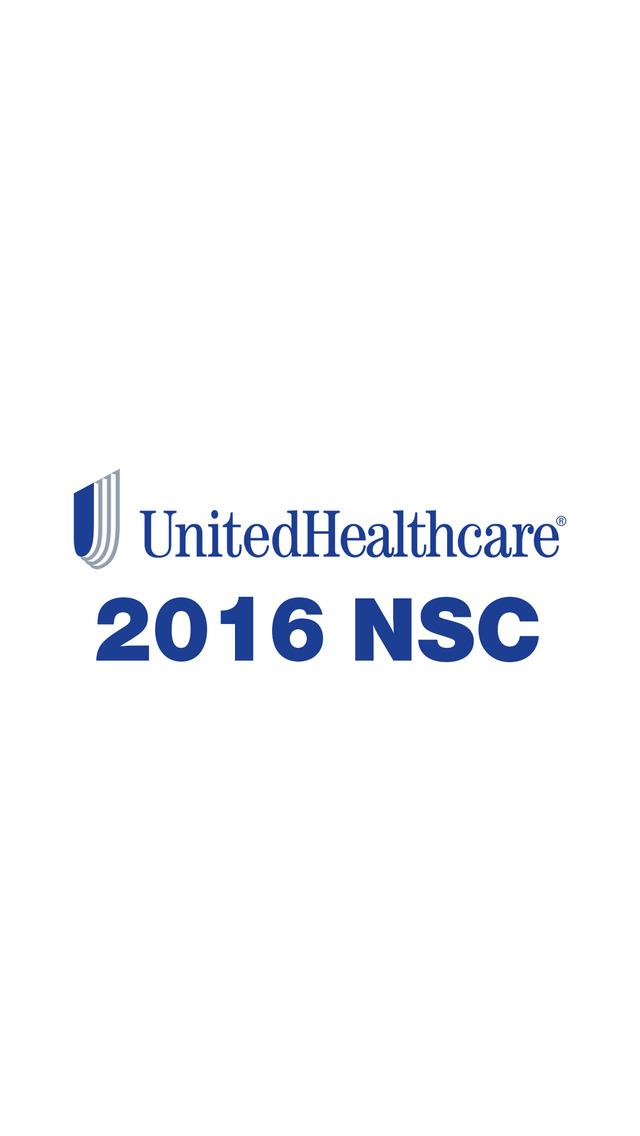 UnitedHealthcare NSC 2016 screenshot 2