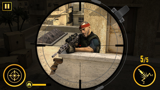 War Duty Sniper 3D screenshot 3