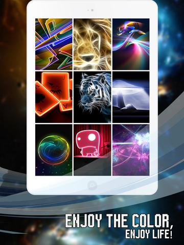 Exclusive Live Neon Wallpaper screenshot 7