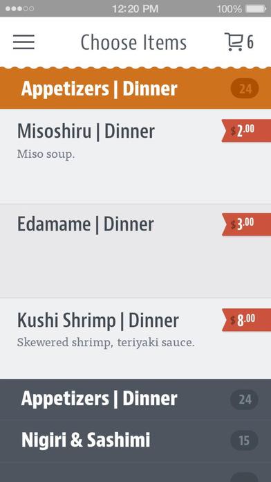 Kyoto Japanese Restaurant screenshot 3