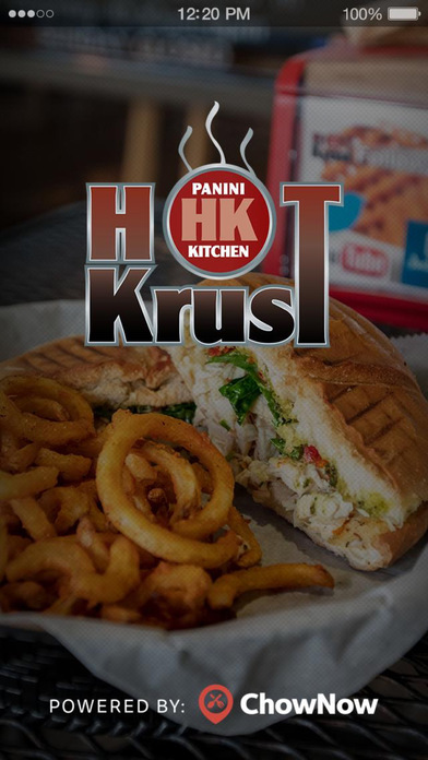 Hot Krust Panini Kitchen screenshot 1