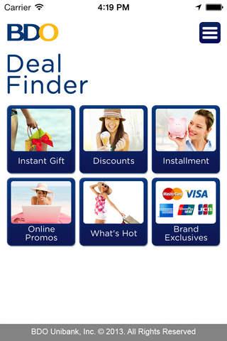 BDO Deal Finder - náhled