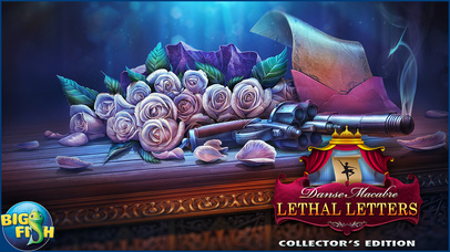 Danse Macabre: Lethal Letters - A Mystery Hidden Object Game screenshot 5
