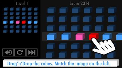 Cube Match - The addictive puzzle game (Premium) screenshot 1