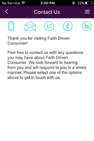 Faith Driven Consumer - náhled