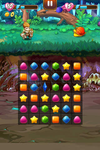 Legends of Magic Stones Free - náhled