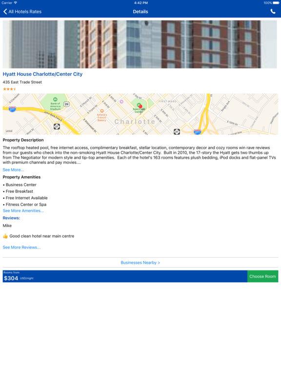 i4charlotte - Charlotte Hotels & Yellow Pages screenshot 7