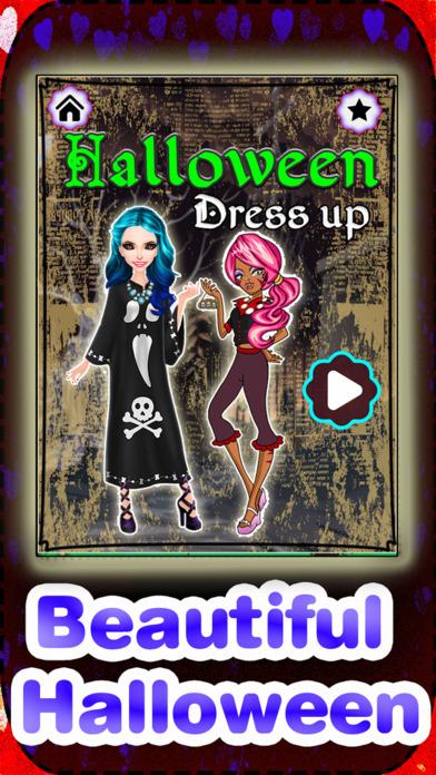 Halloween Monster Girl DressUp screenshot 1