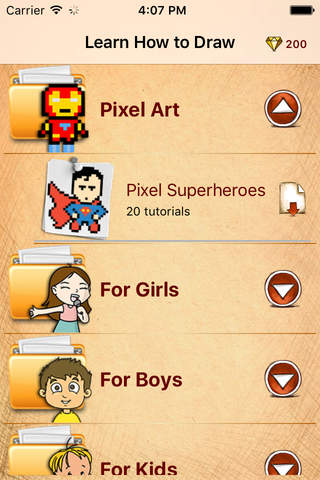 Learn How To Draw Pixel Art Super Heroes - náhled