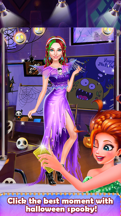 Halloween Spooky Girl Salon screenshot 5