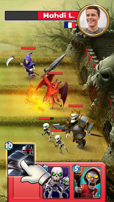 Castle Crush: Clash Cards Game screenshot 2