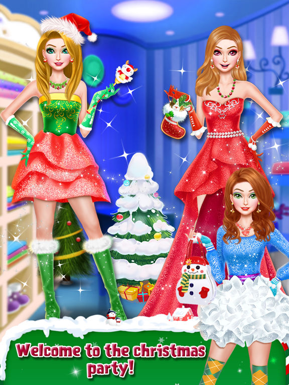 Christmas Doll Party Makeover screenshot 6