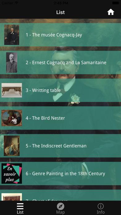 Cognacq-Jay Museum screenshot 2