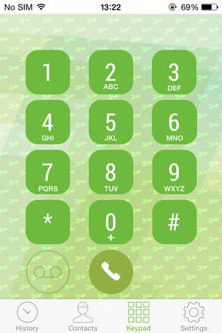 Collect call app for iPhone - náhled