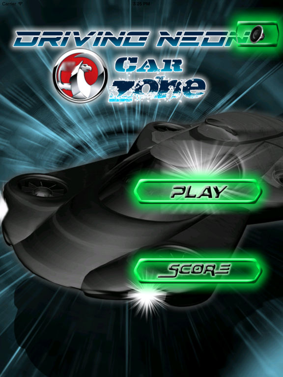 Driving Neon Car Zone - Burnt Speedway screenshot 6