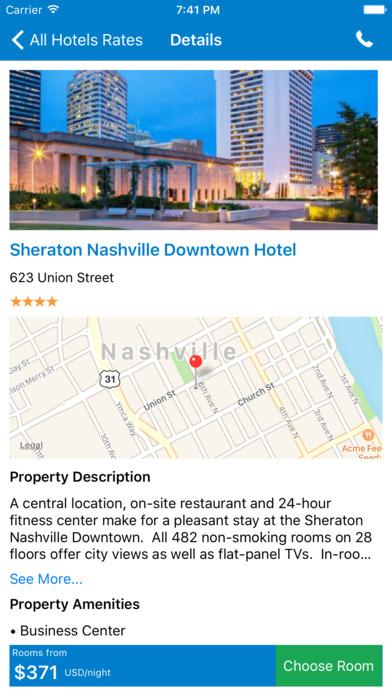 i4nashville - Nashville Hotels & Yellow Pages screenshot 2
