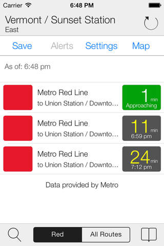 Transit Stop: LA Metro Tracker (Free) - náhled