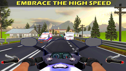 City Bike Drive : 3D Highway Ride 2016 screenshot 2
