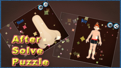 Human Body Part Puzzle For Kids screenshot 3