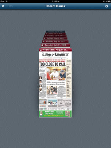 Ledger-Enquirer E-Edition - náhled
