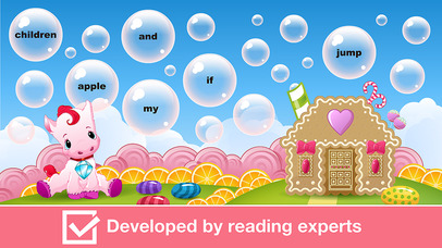 Sight Words Games in Candy Land - Reading for kids screenshot 4
