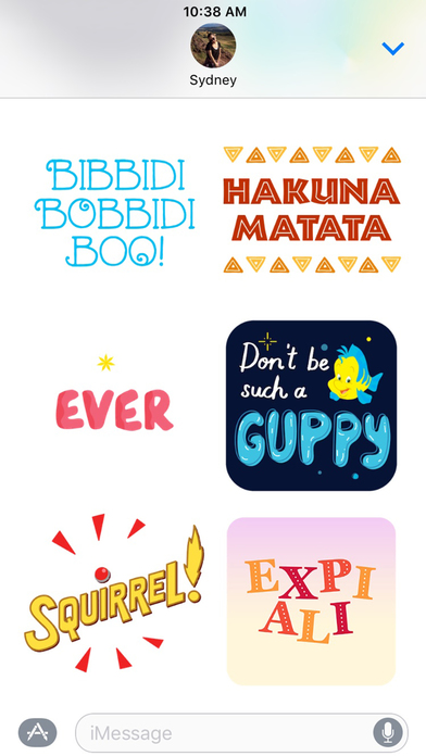 Disney Stickers: Quotes screenshot 4