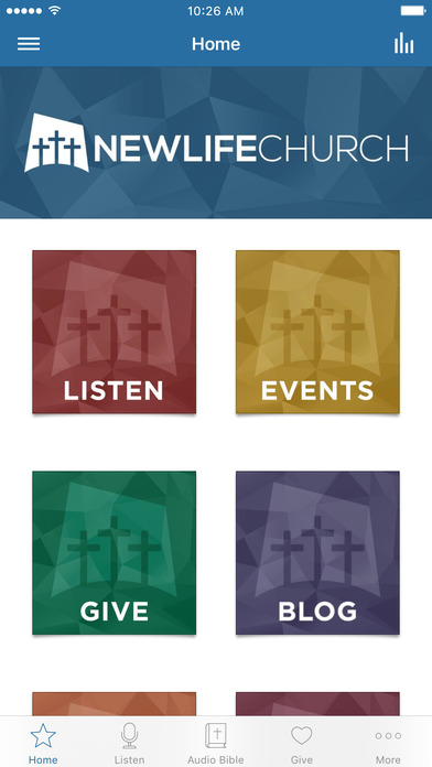 New Life Church Denton screenshot 1