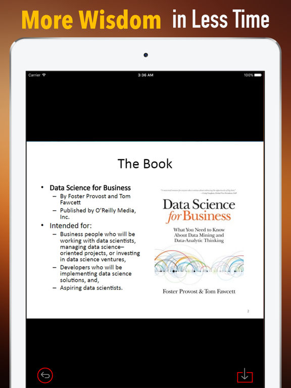 Quick Wisdom from Data Science for Business screenshot 6