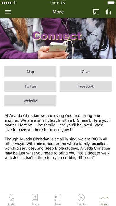 Arvada Christian screenshot 3