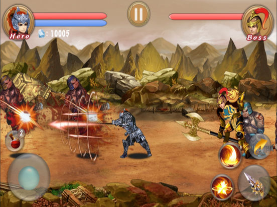 Action RPG-Blade Of Dragon Hunter Pro screenshot 9