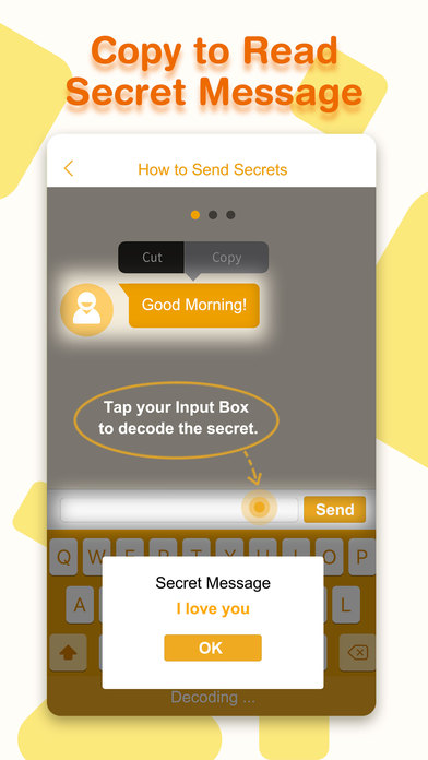 Secret Text Keyboard - Hide Texts Messages App | Apps | 148Apps