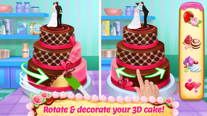 Real Cake Maker 3D Bakery screenshot 1