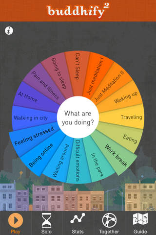 buddhify - modern mindfulness for busy lives - náhled