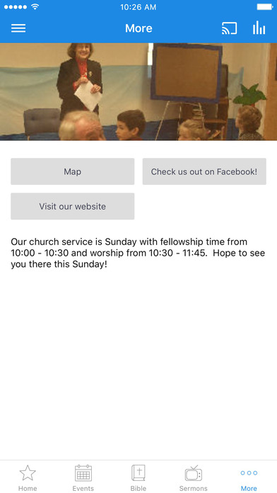 Raymond Baptist Church - NH screenshot 3