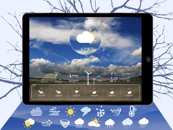 Dynamic Wea HD screenshot 8