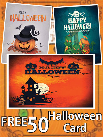 Happy Halloween Greeting Cards - náhled