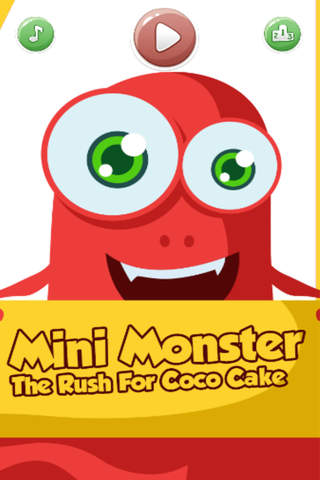 Mini Monster - The Rush For Coco Cake - náhled