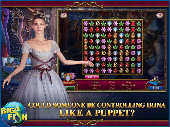 Danse Macabre: Lethal Letters - A Mystery Hidden Object Game (Full) screenshot 7