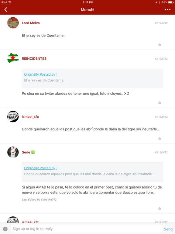 Foro SevillaGrande screenshot 5