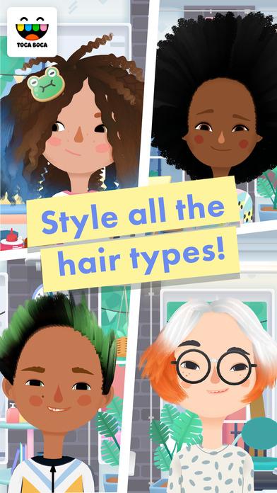 Toca Hair Salon 3 screenshot 3